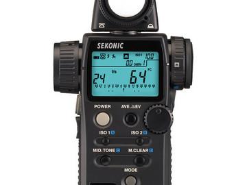 Rent: Sekonic L-758CINE DigitalMaster Light Meter