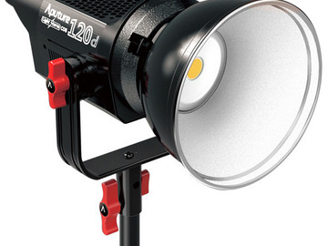 Rent: Aputure 120D (two Lights)  Daylight  LED Light