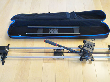 "Rent: Rhino Evo Motorized Slider 24"" or 42"" w/ Fluid Head"