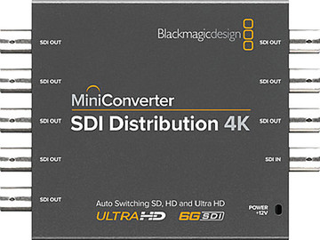 Rent: Blackmagic Design Mini Converter SDI Distribution 4K