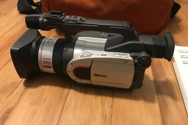 Canon GL1 Mini DV Camcorder VHS SVHS