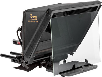 Rent: Ikan Elite V2 Universal Tablet Teleprompter w/ Remote & iPad