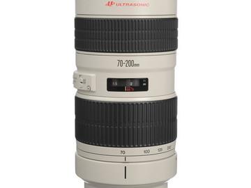 Rent: Canon 70-200 T 2.8 L