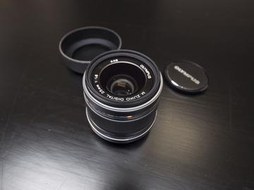 Rent: Olympus 25mm f1.8 Micro Four Thirds Lens
