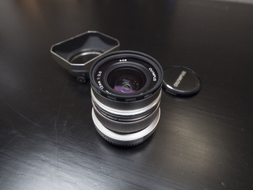 Rent: Olympus 12mm f/2.0 Micro Four Thirds Lens