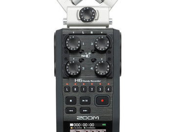 Rent: Zoom H6 Handy Recorder w/ Extras
