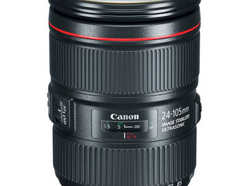 Rent: Canon EF 24-105mm f/4 L IS USM Version II