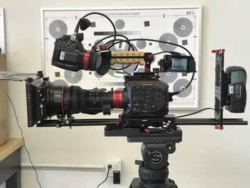 Rent: Panasonic EVA1 (AU-EVA1) 5.7K Super 35mm EF or PL (1 of 2)