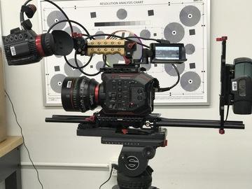 Rent: 2- Panasonic EVA1 (AU-EVA1)5.7K Super 35mm Package