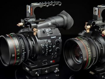 Rent: Canon EOS C300 PL Super 35mm PL-Mount Digital Cine Camera