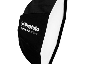 Rent: Profoto 3' RFi Octa Softbox kit w/Grid and Profoto speedring