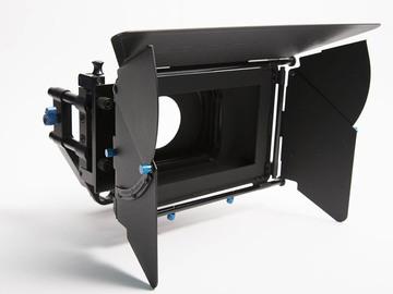 Rent: Redrock Micro Swing Away Matte Box w/ 4 Cavision ND Filters