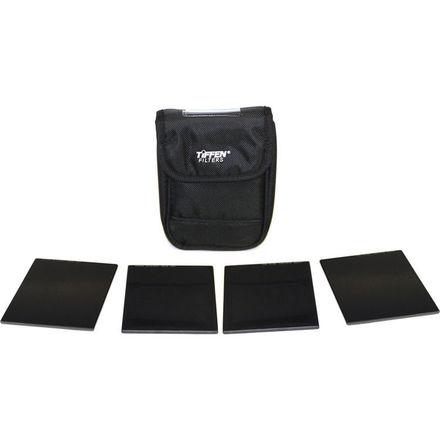 Tiffen 4x4-in ND Filter Set  + Polarizer