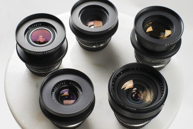 Leica R Summilux Cine-mod 4 lens set