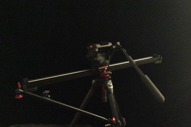 Konova K5 slider + Manfrotto Tripod Legs/Head + Support Arm