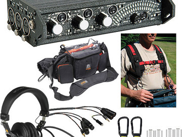 Rent: Sound Devices 302 ENG/EFP Deluxe Field Mixer Kit