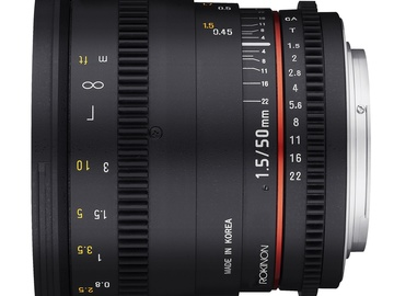 Rent: Rokinon Cine DS 50mm T1.5
