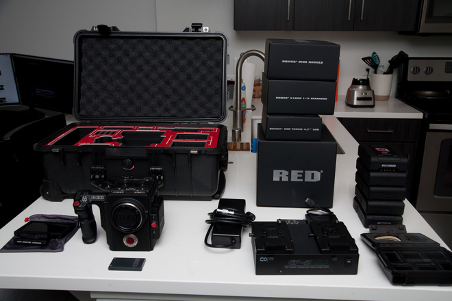 RED Raven Full Setup | 5 Batteries, Internal ND's and More
