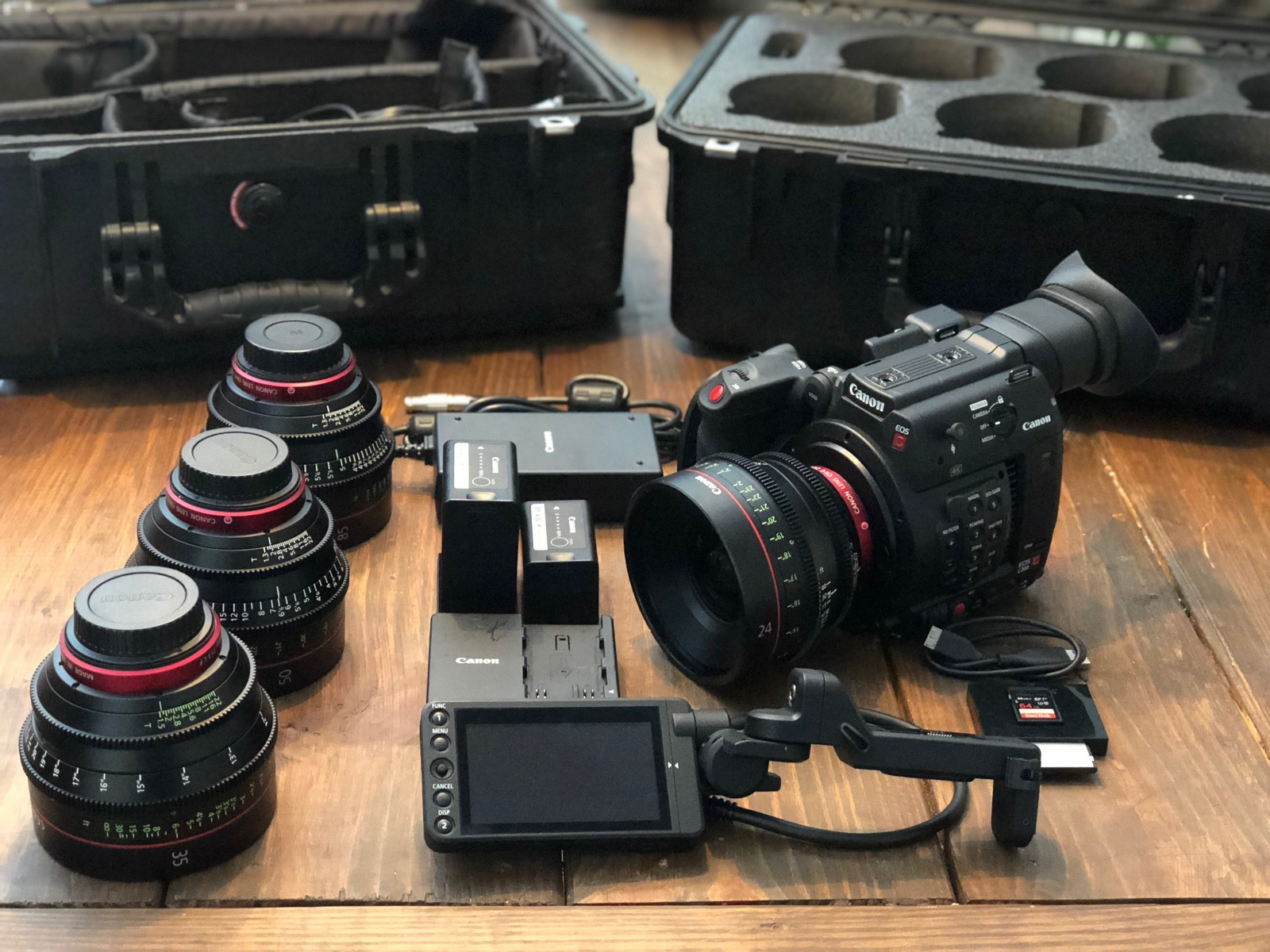 Rent a Canon C200 package w/choice of 1 CINE Lens(24,35,50,85) , Best  Prices | ShareGrid Atlanta