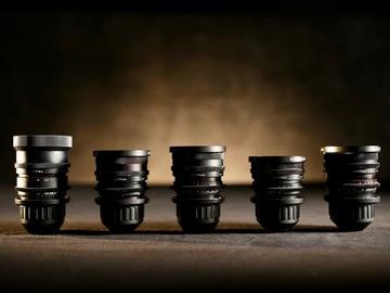 Zeiss Super Speed PL lens Set #1 (B-Speeds)