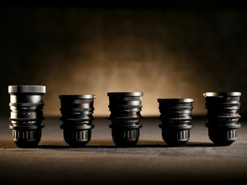 Zeiss Super Speed PL lens Set #1 (18,25,35,50,85)