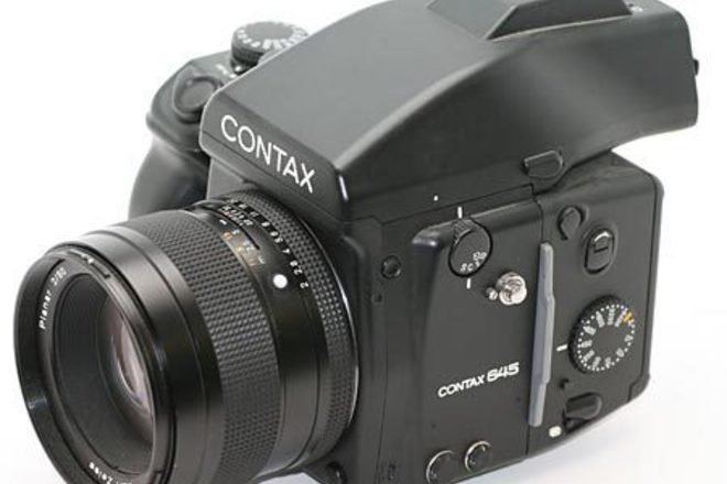 Contax 645 with Zeiss 80mm f2