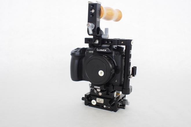 Panasonic Lumix DC-GH5 Digital Camera (V Log) Base Package