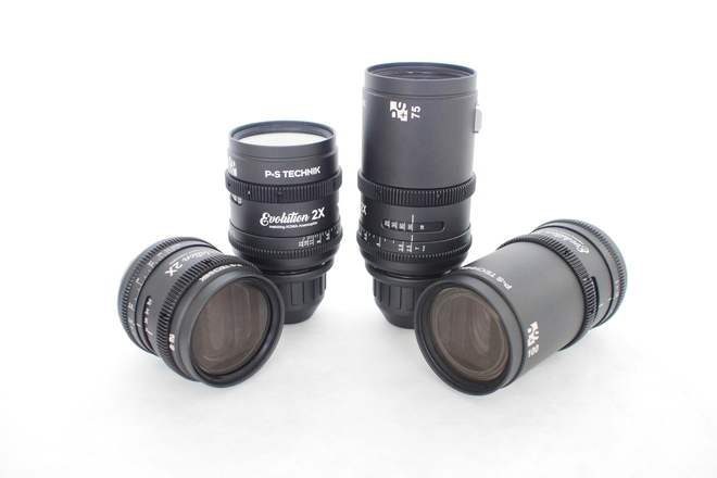 Kowa Evolution 2X by P+S Technik Anamorphic Prime Lens Set