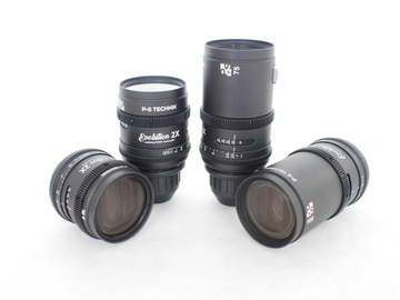 Kowa Evolution 2X by P+S Technik Anamorphic Prime Lens Set