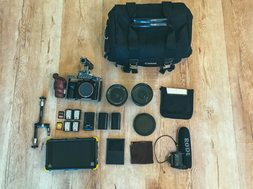 Rent: Sony A7SII Package with Tilta Cage, Sony Lens, Atomos Shogun