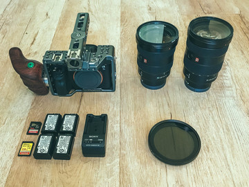Rent: Sony A7SII Package with Tilta Cage (100)