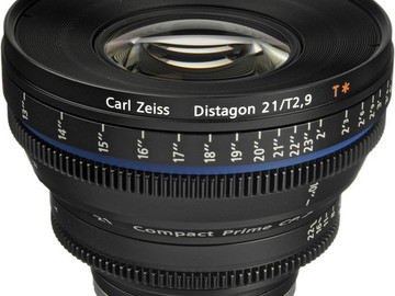 Rent: Zeiss 21mm CP.2 with Canon EF Mount only