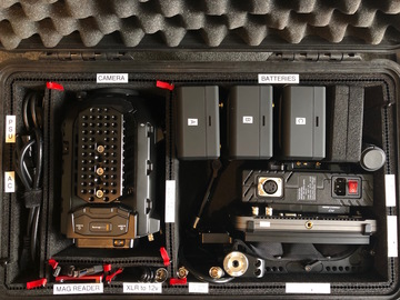Blackmagic URSA Mini Pro Kit 1 PL/EF Body with Monitor