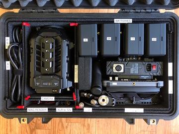 Blackmagic URSA Mini Pro Kit 3 PL/EF with Monitor and Tripod