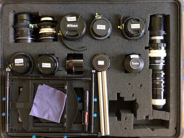 Rent: Nikon Vintage Lens Set  w/ EF Adapters, Gears and Matte Box