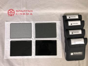 """Rent: Schneider POLA + Platinum IRND Filter Set - 4x5.65"""""""