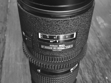 Rent: Nikon zoom lens set