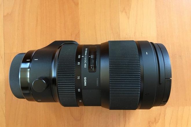 Sigma Art 50-100mm f/1.8 EF mount