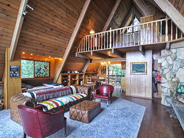 Rent: Gorgeous Mid-Century, Rustic, Mountain-Cabin