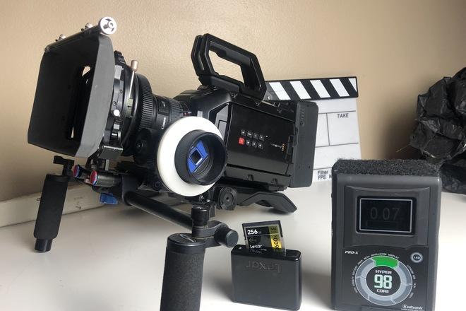 URSA MINI 4.6K with Canon L Series