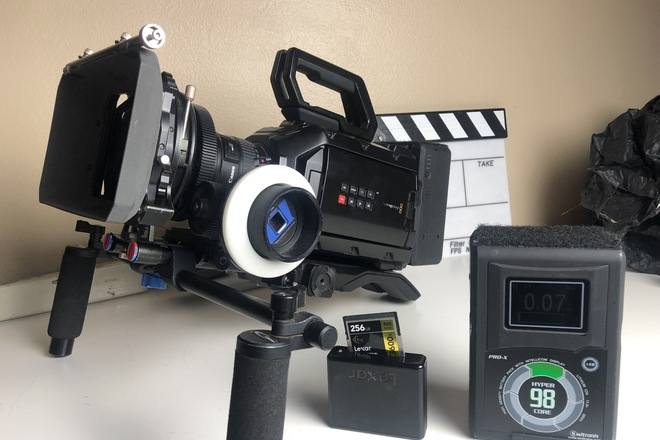 URSA MINI 4.6K with Canon L Series