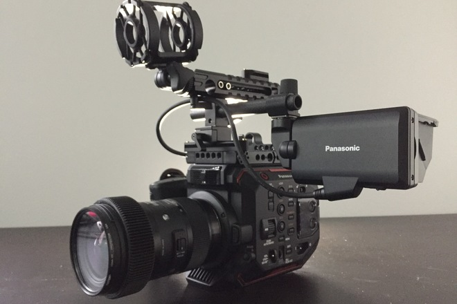 Panasonic EVA1, Basic Package w/ Lens and V-Mount