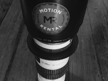 Rent: Canon EF 70-200mm f/4L IS USM Lens