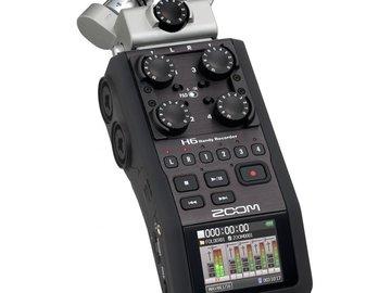 Rent: (3) Sennheiser ew 100 ENG G3 & H4N Recorder with SD Card