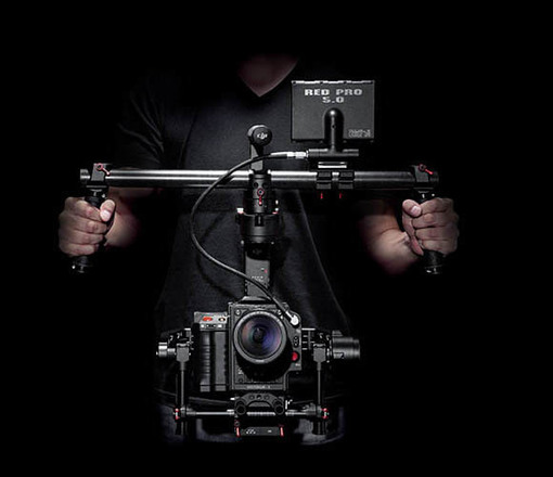 DJI Ronin Gimbal Stabilizer (Extensions, Monitor, 2 Batts)