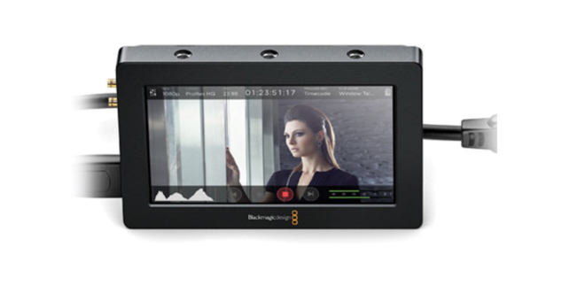 "Video Assist HDMI/6G-SDI Recorder and 5"" Monitor"