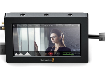 "Rent: Video Assist HDMI/6G-SDI Recorder and 5"" Monitor"