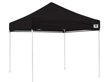 Rent: 10x10 pop up tent black sturdy