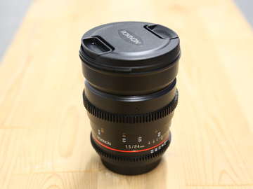 Rent: Rokinon Cine DS 24mm T1.5 EF Mount