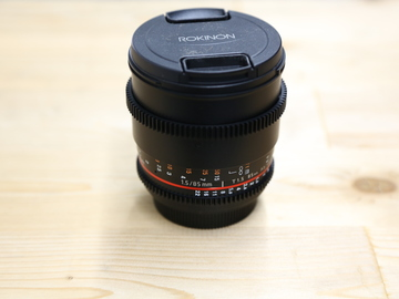 Rent: Rokinon Cine DS 85mm T1.5 EF Mount